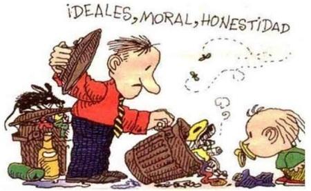 QUINO 5 IDEALES MORAL HONESTIDAD