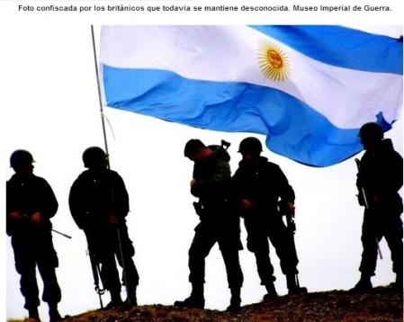 MALVINAS - COMANDOS PROTECTORES de ISLENOS ARGENTINOS