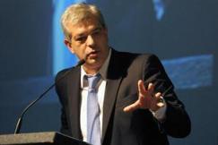 Julian Dominguez Presidente de la Deshonrrosa Camara de Diputados de  La Nacion