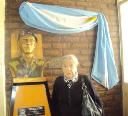 Sra. Maria Delicia Rearte , Viuda del Capitan de Fragata  Pedro Giachino