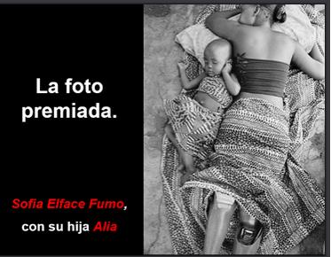 FOTO PREMIADA de GERVASIO SANCHEZ , Periodista Grafico muchas veces galardonado Internacionalmente