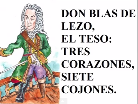 BLAS de LEZO 3 Corazones 7 Cojones y Ojo: fue Vasco NO Andaluz