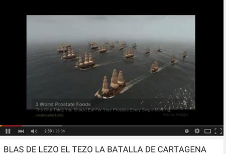 FLOTA de la Primer TASK FORCE INGLESA CONTRA LATINOAMERICA