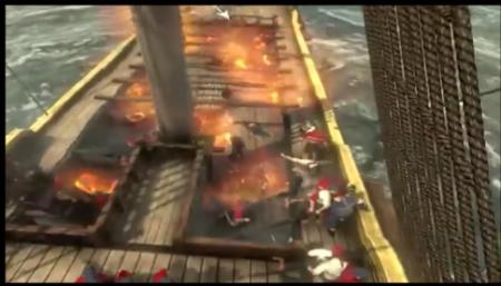 Ingleses queman sus propios barcos por falta de marinos para llevarselos