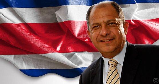 Presidente de Costarrica Luis Guillermo Solis