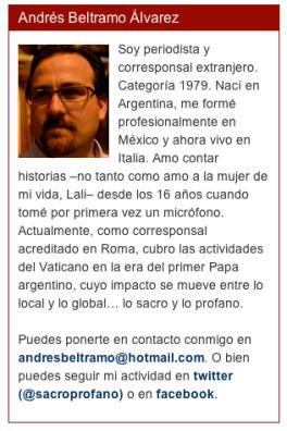 ANDRES BELTRAMO ALVAREZ Argentino Period
