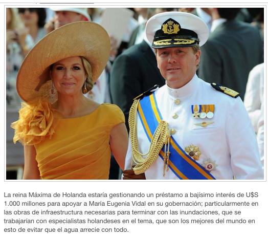 TRASPASO DE PODER y HOLANDA