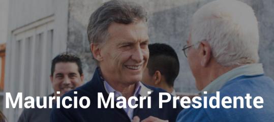 MAURICIO MACRI PRESIDENTE
