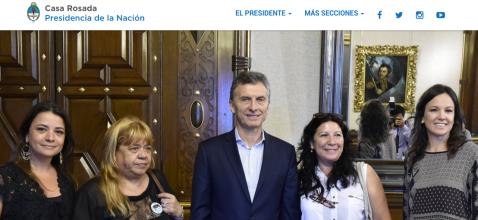 PRESIDENCIA DE LA NACION 2016
